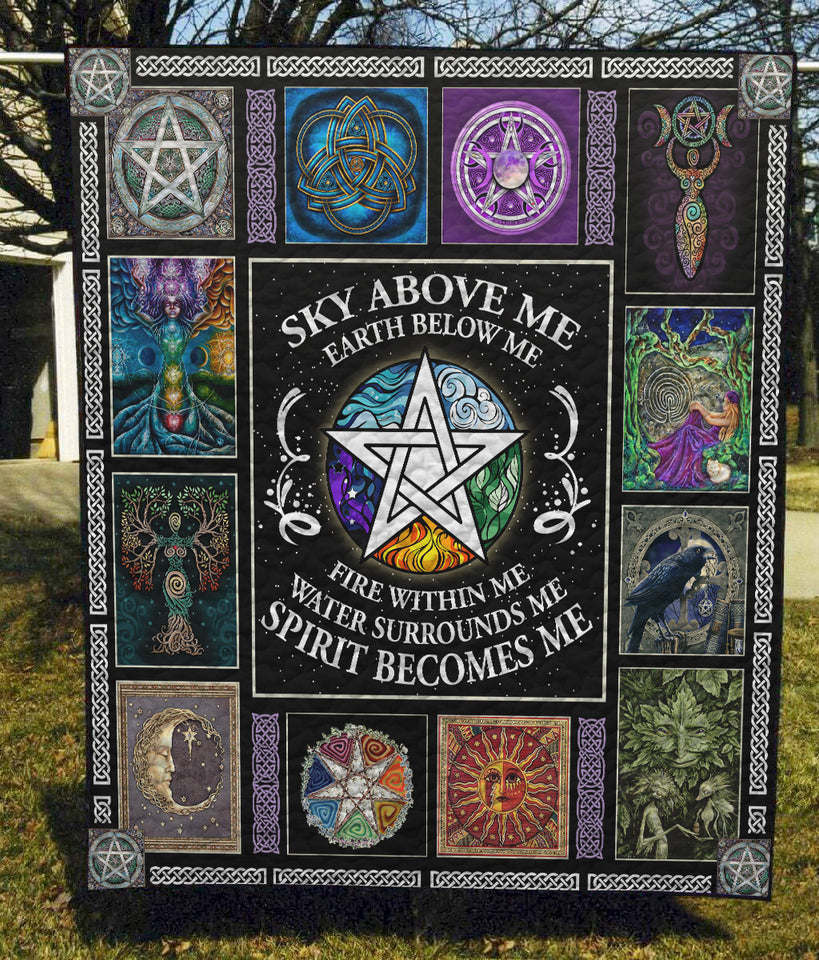 Wicca - Quilt Blanket