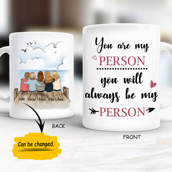 Custom Mug Friends New Sky