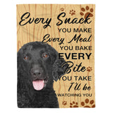 Love You Fur-ever Curly-Coated Retriever - Dog fleece blanket dog lover gift idea pet lover gift