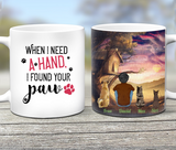 Silent Night With Dogs, Personalized custom dog mug Pet mug Mother gift idea dog lover gift