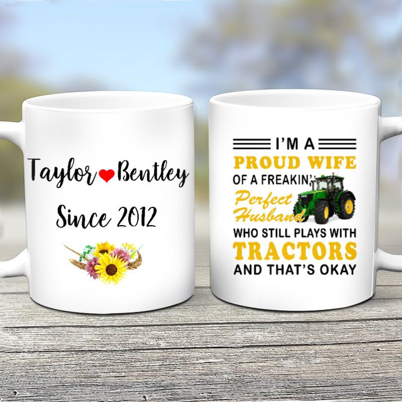 For My Husband - Personalized Mug
