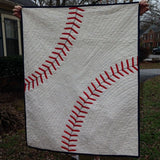 Baseball is Awesome Quilt Blanket 22