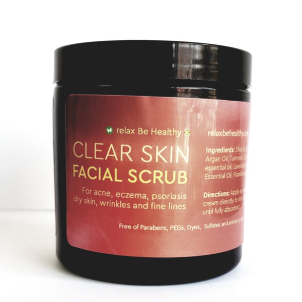 Clear Skin Facial Scrub