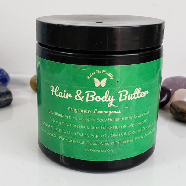 Lemongrass Body Butter (uplifting)