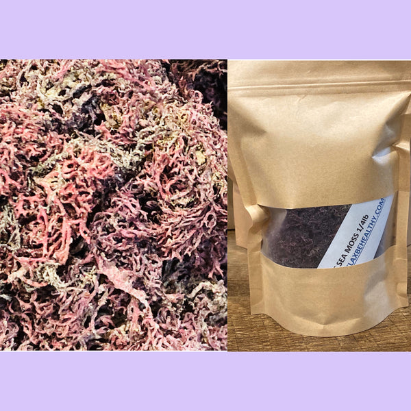 Purple Sea Moss (1/4 pound)
