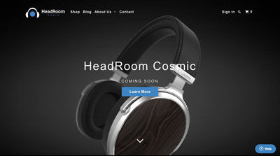 HeadRoom Audio Gets a New Website - and A Cosmic Surprise!