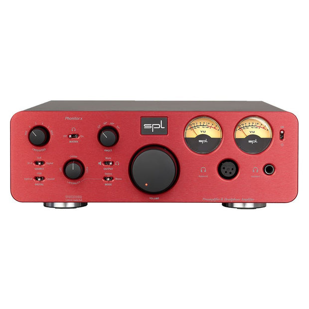 SPL Phonitor X Headphone Amp Headphone Amplifiers SPL Red Without DAC