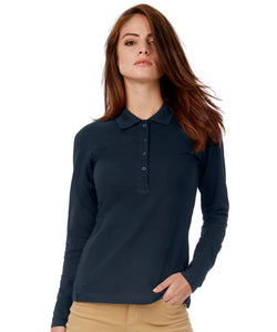 Polo femme Safran Pure manches longues