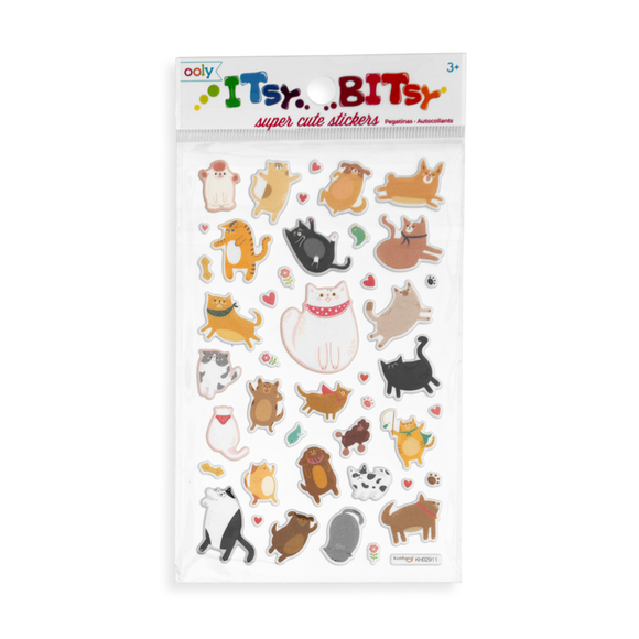 Puffy Pets Itsy Bitsy Stickers