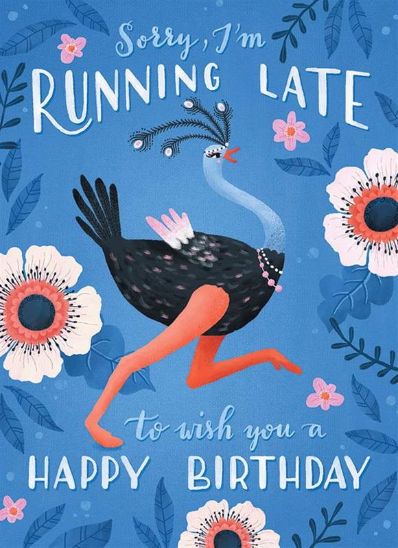 Birthday - Running Late