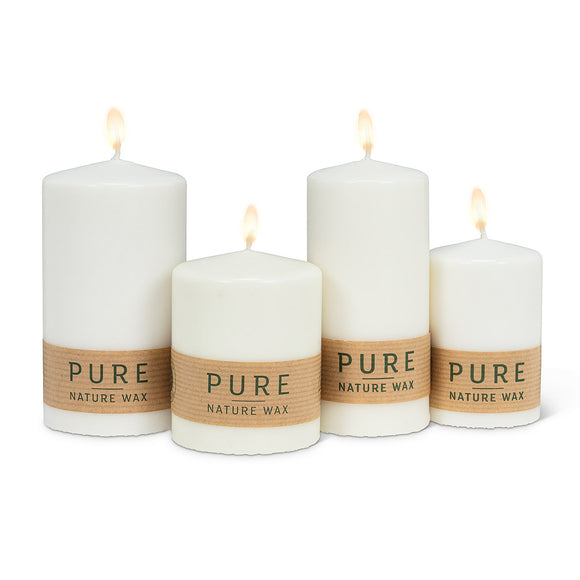 Eco Pillar Candle