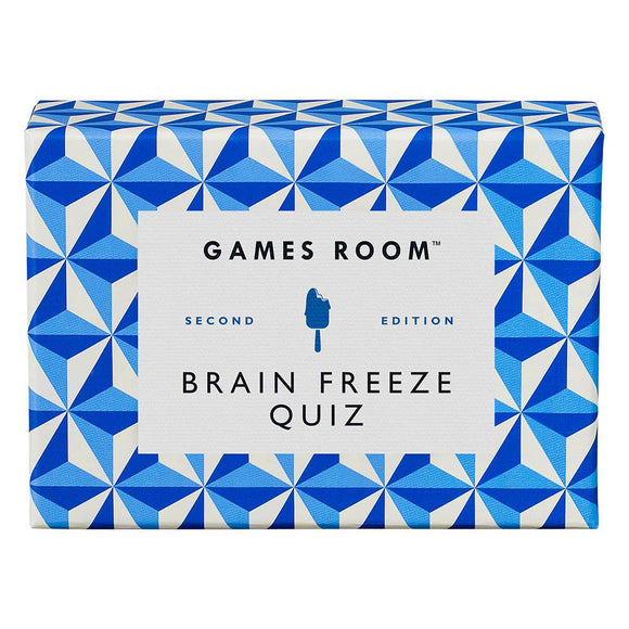 Games Room - Brain Freeze Quiz Second Edition
