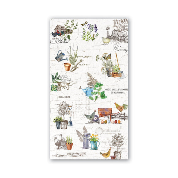 Michel Design Guest Napkin - Country Life