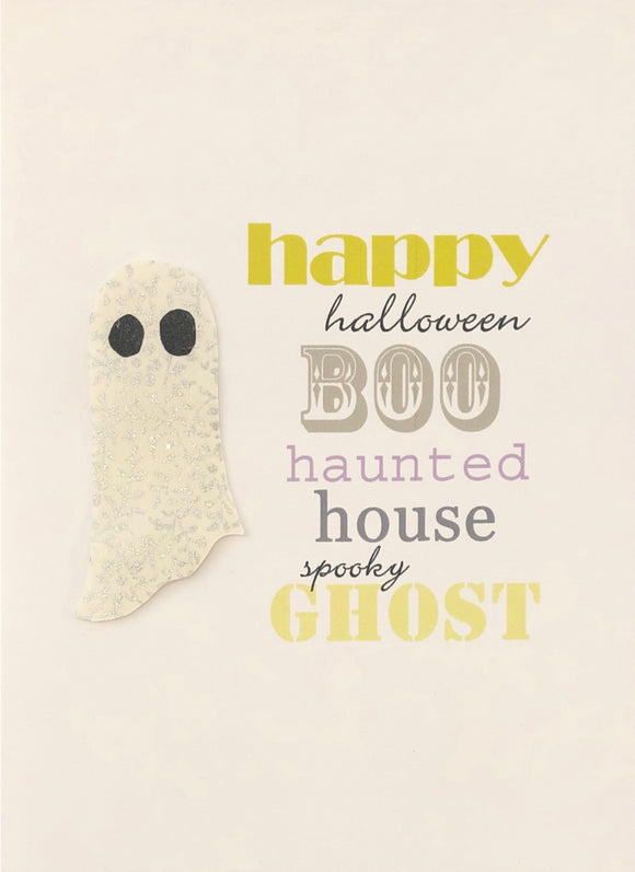 Halloween Card - Happy Boo