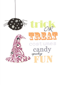 Halloween Card - Trick or Treat