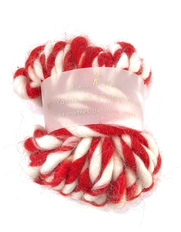 Peppermint Yarn Roll $14.00