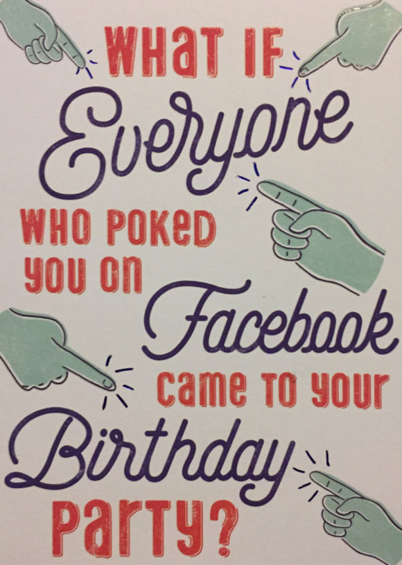 Birthday - Facebook Poke