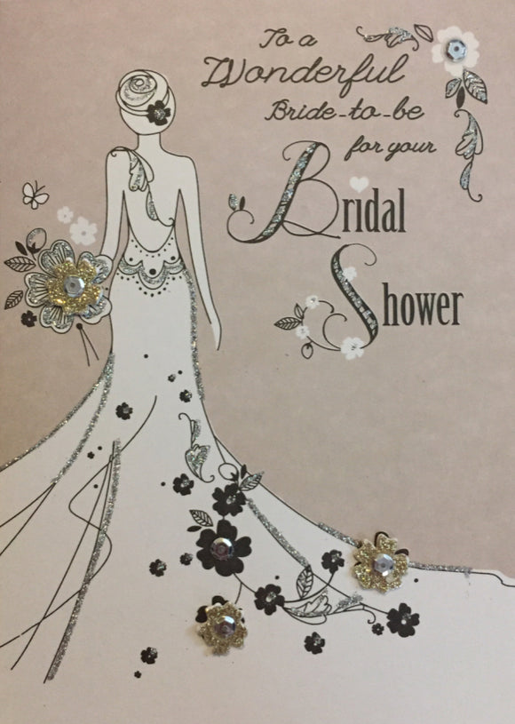 Bridal Shower - Wonderful Bride-to-be
