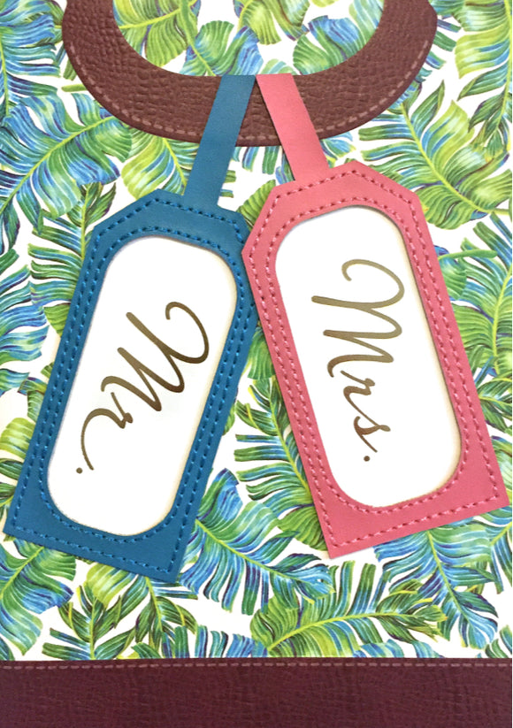 Wedding - Luggage Tags