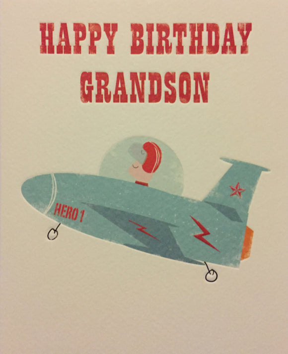 Birthday Relative Specific - Grandson