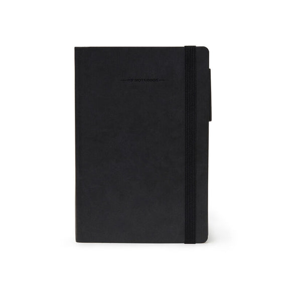 My Notebook Med Blank - Black