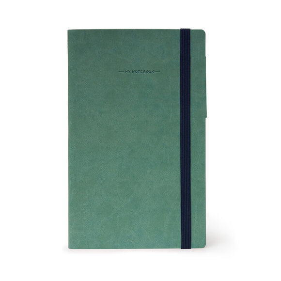 My Notebook Large Dotted - Vintage Green
