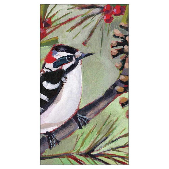 PPD Guest Napkin - Winter Bird Musee