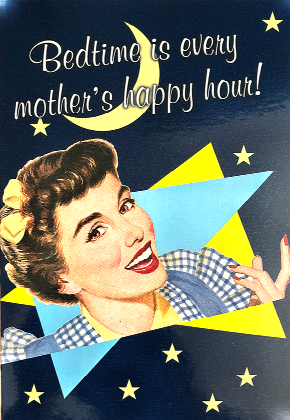 Mother's Day Humour - Happy hour!