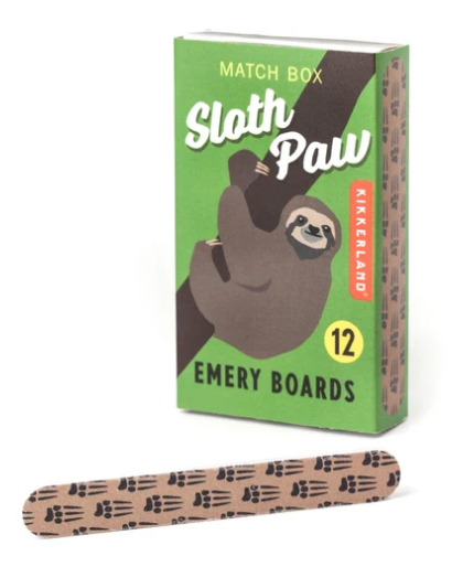 Sloth Paw Emery Board