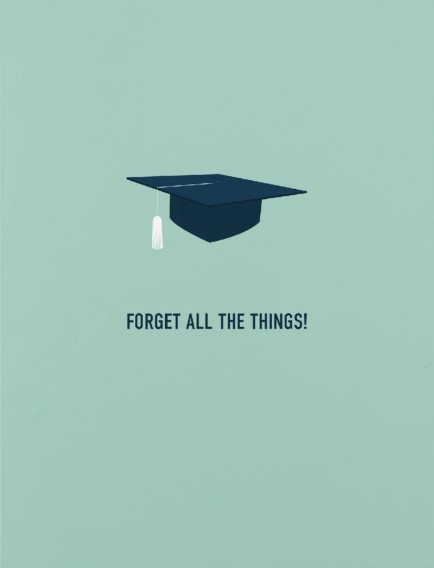 Graduation - Forget all the Things!