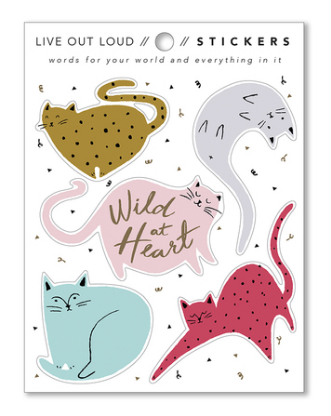 Stickers - Wild at Heart