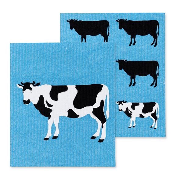 Swedish Dish Cloth - Cow