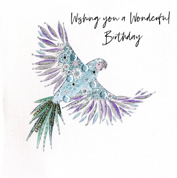 Birthday - Bejeweled Parrot