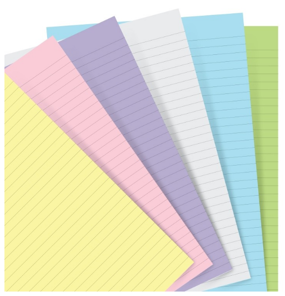 Personal Pastel Ruled Paper