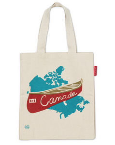 Canvas Tote Bag - Canada Canoe