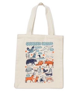 Canvas Tote Bag - Canada Wildlife