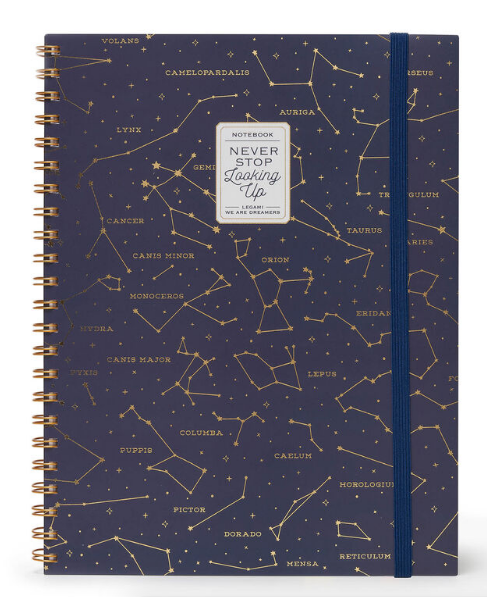 A4 Spiral Bound 3-in-1 Notebook - Constellations