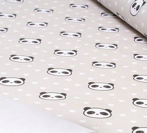 Panda Head Roll Wrap