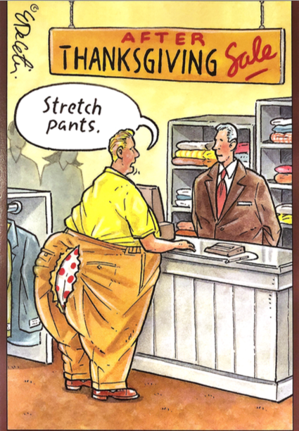 Thanksgiving - Stretch Pants