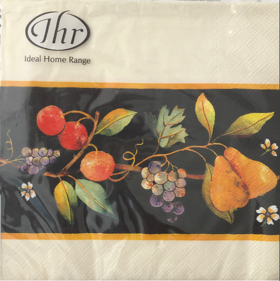 IHR Lunch Napkin - Fruit Border