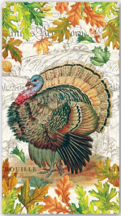 Michel Design Guest Napkin - Fall Harvest