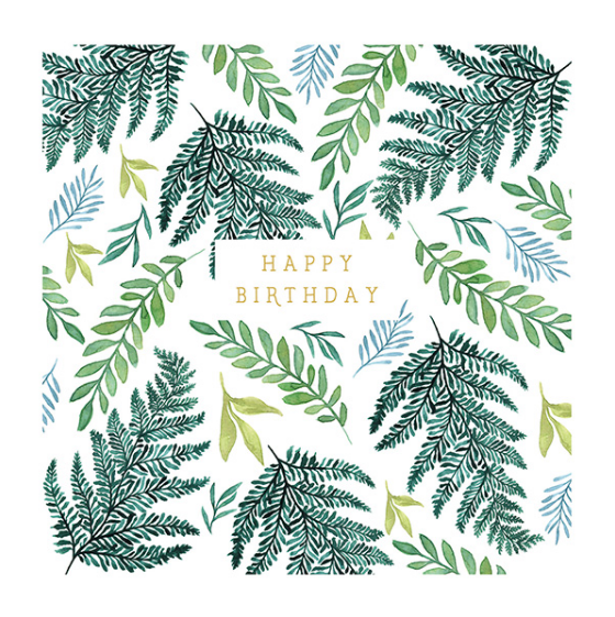 Birthday - Greenery