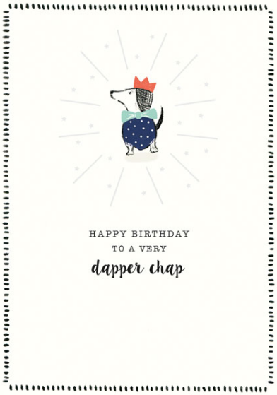 Birthday - Dapper Chap