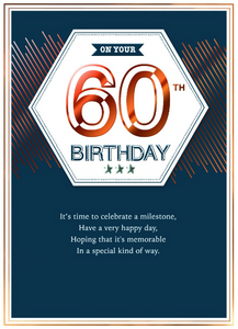 Age Specific - 60th Birthday