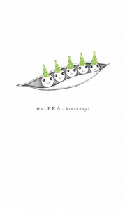 Birthday - Ha-PEA Birthday