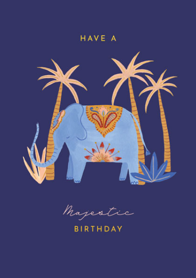 Birthday - Majestic Elephant