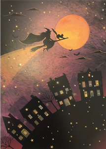 Halloween Card - Witch City