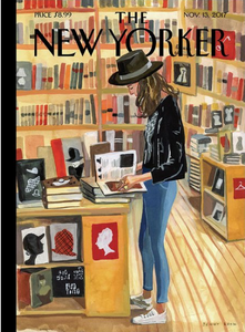 Blank - New Yorker Cover Book Store