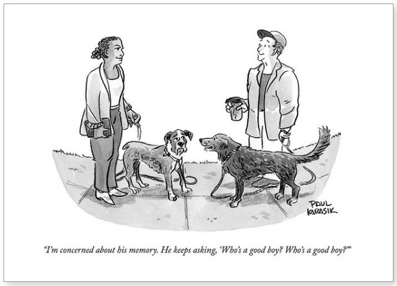 Blank - New Yorker Who's a Good Boy?