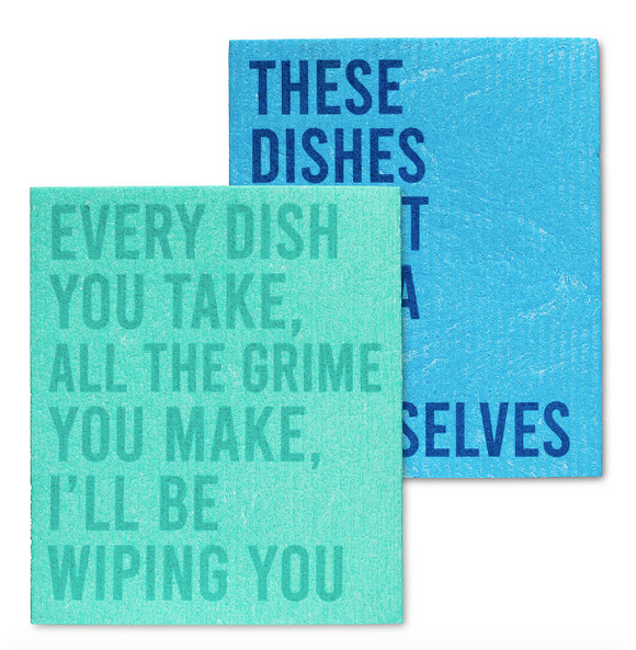 Swedish Dish Cloth - Wiping you/Wash Themselves